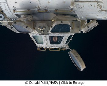 Space station cupola