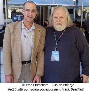 Donald Pettit and Frank Beacham