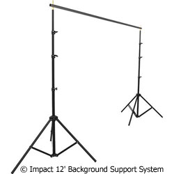 Impact 12' Background Support System