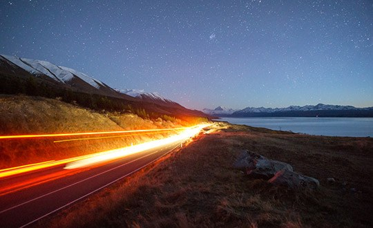 How to Photograph Car Light Trails