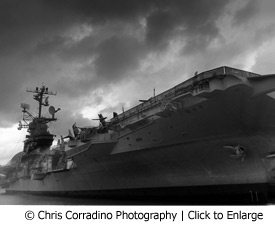USS Intrepid by Chris Corradino