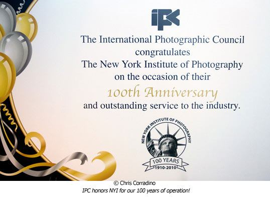 IPC honors NYI's 100 year anniversary