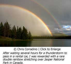 Chris Corradino Double rainbow in Aspen