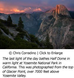 Chris Corradino Half Dome