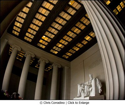 Lincoln Memorial by Chris Corradino