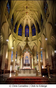 St. Patrick's Cathedral by Chris Corradino