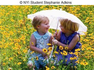 Photo of kids on Spring by NYIP Student Stepganie Adkins