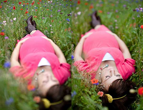 How to Take Portraits in Patches of Wildflowers image