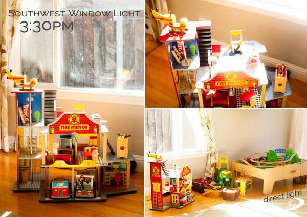 Using Natural Light from Windows