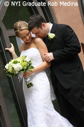 Wedding picture by NYI Graduate Rob Medina