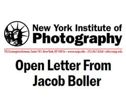 Open letter from Jacob Boller