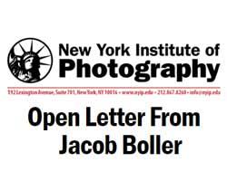 Open letter from Jacob Boller