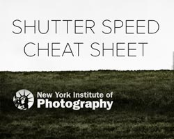 Our Favorite Shutter Speed Cheat Sheet