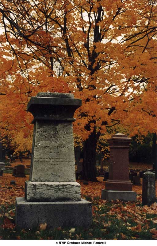 Picture of the Month Autumn Tombstone