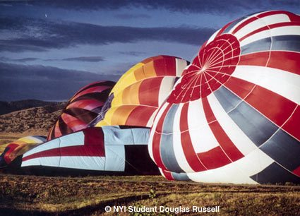 Picture of the Month Hot Air Balloons