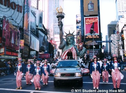 Picture of the Month Parade in Times Square