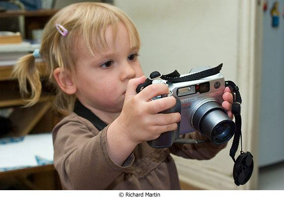Teach Your Toddler How to Take Photos